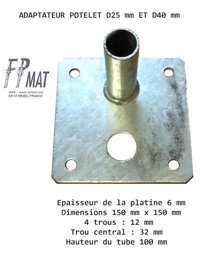 adaptateur-potelet-d25-d40-fpmat